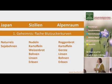 Vortragsausschnitt   Ernährung   Dr. Karin Buchart   Ernährungsgeheimnisse der Hundertjährigen