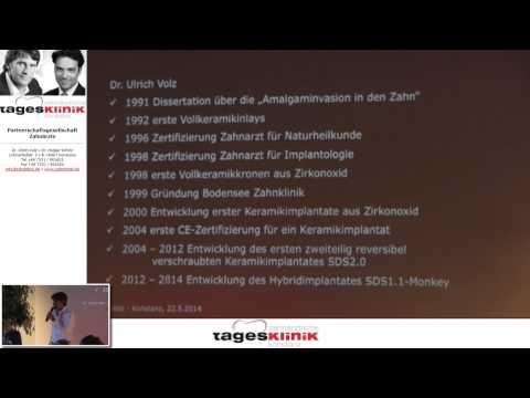 1/2: Dr. Ulrich Volz: Keramikimplantate - die einfache, schnelle und sichere Versorgung