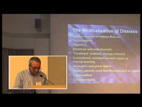 Teil 1/2: Pete Sanders: Manufacturing distress and selling psychotherapy: person-centred therapy ...
