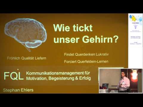1/2: Stephan Ehlers: Was Ihr Gehirn schon lange über Sie weiß und Sie über Ihr Gehirn wissen sollten