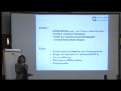 1/2: Inge Weßner: Vitalität und Lebensfreude durch Ernährung und Bewegung
