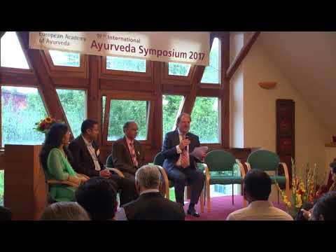1/2: Moderation Mark Rosenberg: Eröffnungspodium Intl. Ayurveda-Symposium 2017