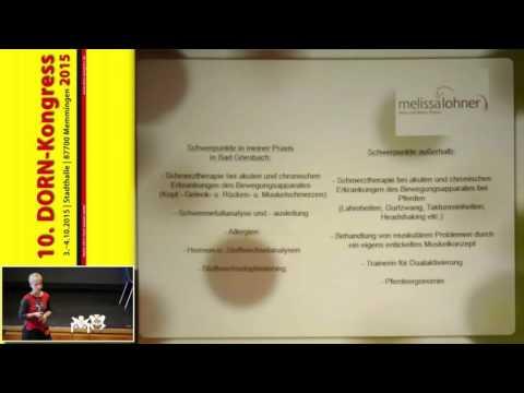 1/2: Melissa Lohner: Die Dorn-Behandlung bei Reiter und Pferd. Die Kombination macht es!
