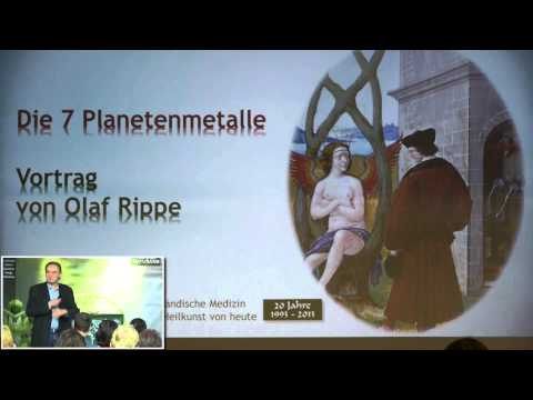1/8: Olaf Rippe: Die Sieben Planetenmetalle in der Astromedizin - Vertiefungsseminar