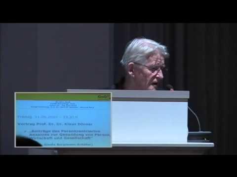 1/5:Prof.Dr.Klaus Dörner:Personzentrierter Ansatz zur Gesundung v.Person,Wirtschaft u.Gesellschaft