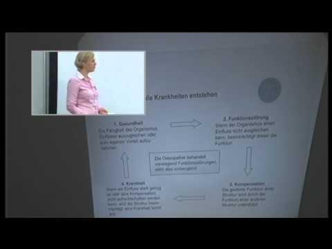 1/2: Nadine Hey: Osteopathie - speziell für Frauen