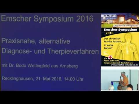 1/2: Dr. Bodo Wettingfeld: Praxisnahe alternative Diagnose- und Therapieverfahren