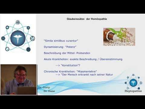 1/2: Dr. Miguel Corty Friedrich: Grundmuster der Homöopathie und Signaturenlehre