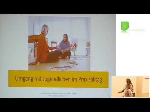 1/2: Claudia Bachmann: Der Umgang mit Jugendlichen im Praxisalltag