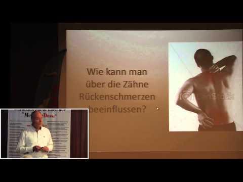 1/4: Dr. med. Hans-Ulrich Prein: Zähne gerichtet - Rückenschmerzen behoben!