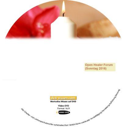 Open Healer Forum (Sonntag) 1 DVD-Wissen - Experten Know How
