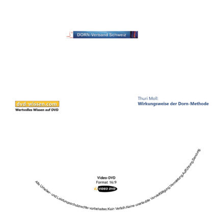 Thuri Moll: Wirkungsweise der Dorn-Methode 1 DVD-Wissen - Experten Know How