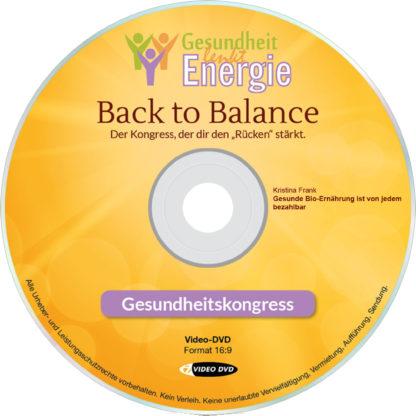 Kristina Frank: Gesunde Bio-Ernährung ist von jedem bezahlbar 1 DVD-Wissen - Experten Know How