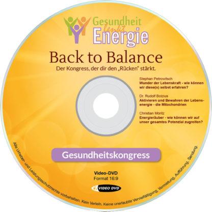 "DVD-Komplettpaket ""Gesundheit lenkt Energie""-Onlinekongress 2017 1 DVD-Wissen"