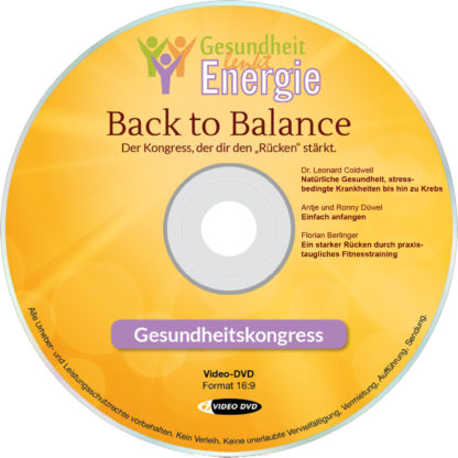 "DVD-Komplettpaket ""Gesundheit lenkt Energie""-Onlinekongress 2017 6 DVD-Wissen"