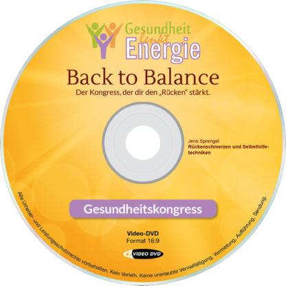 Jens Sprengel: Rückenschmerzen und Selbsthilfetechniken 1 DVD-Wissen - Experten Know How