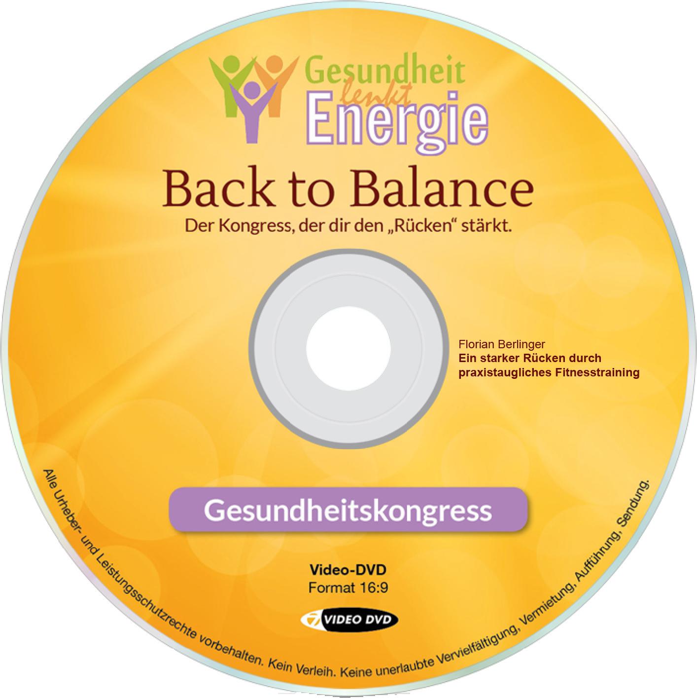 Florian Berlinger: Ein starker Rücken durch praxistaugliches Fitnesstraining