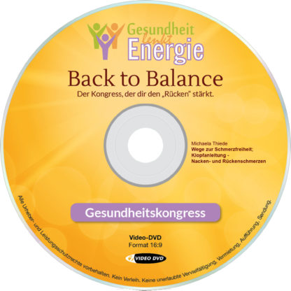 Michaela Thiede: Wege zur Schmerzfreiheit; Klopfanleitung - Nacken- und Rückenschmerzen 1 DVD-Wissen