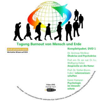 """BEMT17 P01 DVD1 Ökokrise Psychokrise Lebenswissenschaften Psychologie Umweltschutz 324x324 - Komplettpaket der Tagung """"Burnout von Mensch und Erde"""""""