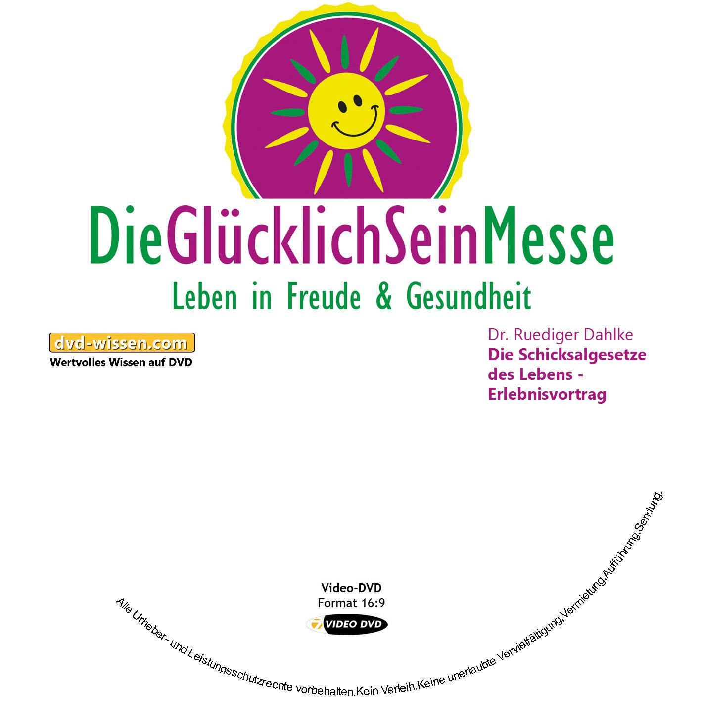 Dr. Ruediger Dahlke: Die Schicksalgesetze des Lebens - Erlebnisvortrag