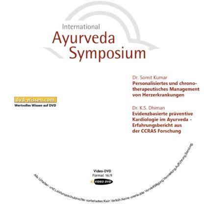 Dr. Somit Kumar / Dr. K. S. Dhiman: Personalisiertes und chronotherapeutisches Management von Herzerkrankungen / Evidenzbasierte präventive Kardiologie im Ayurveda - Erfahrungsbericht aus der CCRAS Forschung 1 DVD-Wissen - Experten Know How