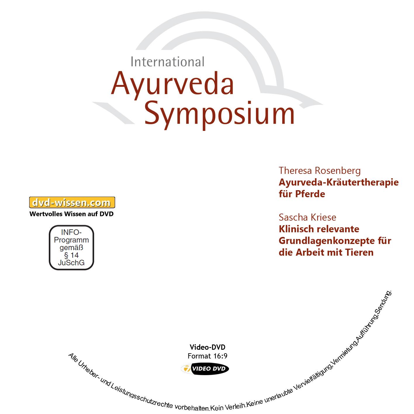 Theresa Rosenberg / Sascha Kriese: Ayurveda-Kräutertherapie für Pferde / Klinisch relevante Grundlagenkonzepte für die Arbeit mit Tieren