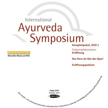 Komplettsatz Video-DVDs des 19. Internationalen Ayurveda-Symposiums 2017 1 DVD-Wissen - Experten Know How