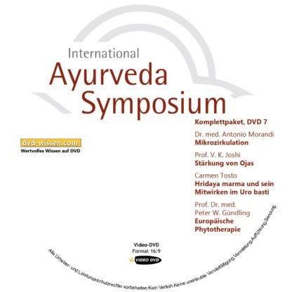 Komplettsatz Video-DVDs des 19. Internationalen Ayurveda-Symposiums 2017 7 DVD-Wissen - Experten Know How