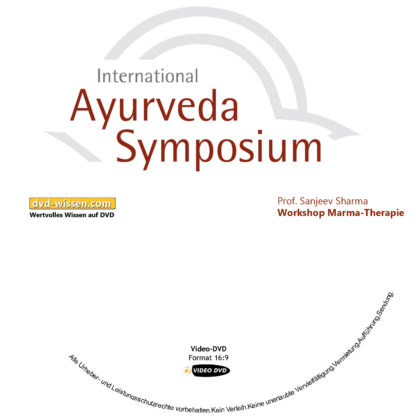 Prof. Sanjeev Sharma: Marma-Therapie (Workshop) 1 DVD-Wissen