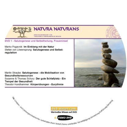 Komplettpaket des Symposiums Salutogenese & Selbstheilung - oder die Kunst des Gleichgewichts auf der Fraueninsel 2017 1 DVD-Wissen