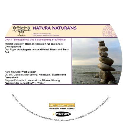 Komplettpaket des Symposiums Salutogenese & Selbstheilung - oder die Kunst des Gleichgewichts auf der Fraueninsel 2017 2 DVD-Wissen