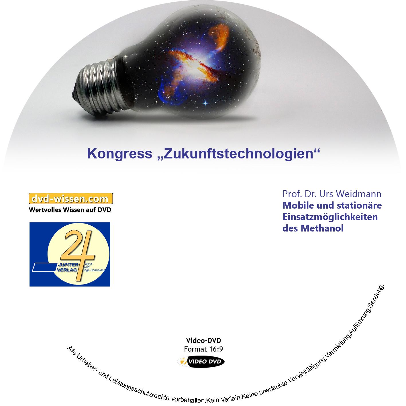 Prof. Dr. Urs Weidmann: Mobile und stationäre Einsatzmöglichkeiten des Methanol