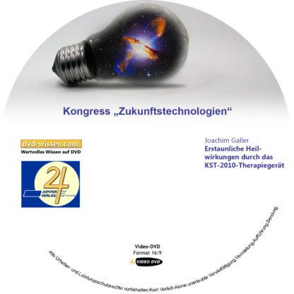 Joachim Galler: Erstaunliche Heilwirkungen durch das KST-2010-Therapiegerät 1 DVD-Wissen - Experten Know How