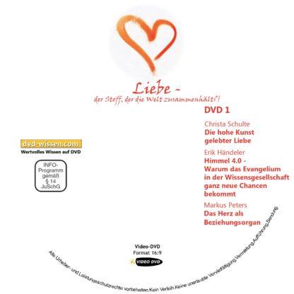 """Komplettpaket Symposium """"Liebe - der Stoff, der die Welt zusammenhält?!"""" 2018 1 DVD-Wissen - Experten Know How"""