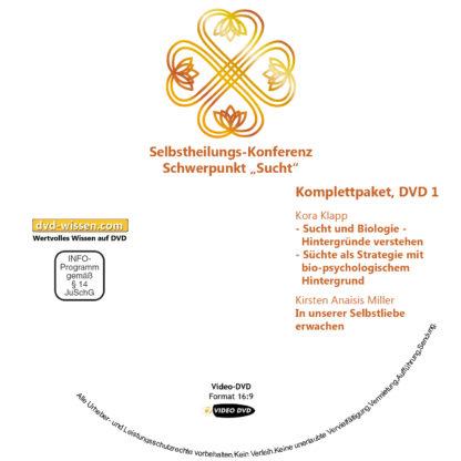 Selbstheilungskonferenz Schwerpunkt Sucht, DVD-Komplettpaket 1 DVD-Wissen - Experten Know How