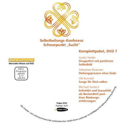 Selbstheilungskonferenz Schwerpunkt Sucht, DVD-Komplettpaket 7 DVD-Wissen - Experten Know How