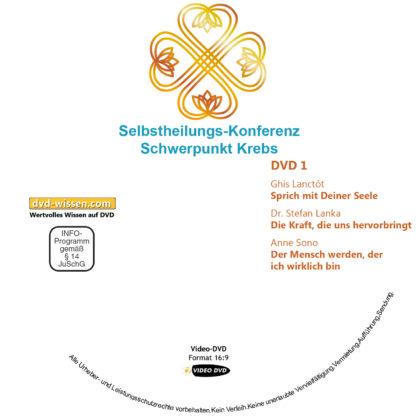 Selbstheilungs-Kongress, Schwerpunkt Krebs, DVD-Komplettpaket 1 DVD-Wissen - Experten Know How
