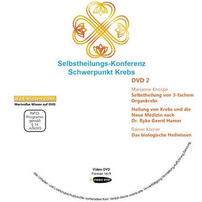 Selbstheilungs-Kongress, Schwerpunkt Krebs, DVD-Komplettpaket 2 DVD-Wissen - Experten Know How