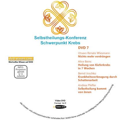 Selbstheilungs-Kongress, Schwerpunkt Krebs, DVD-Komplettpaket 7 DVD-Wissen - Experten Know How