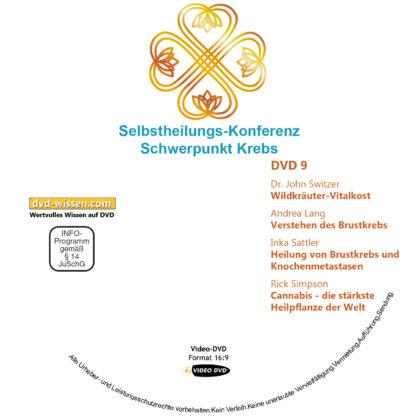 Selbstheilungs-Kongress, Schwerpunkt Krebs, DVD-Komplettpaket 9 DVD-Wissen - Experten Know How