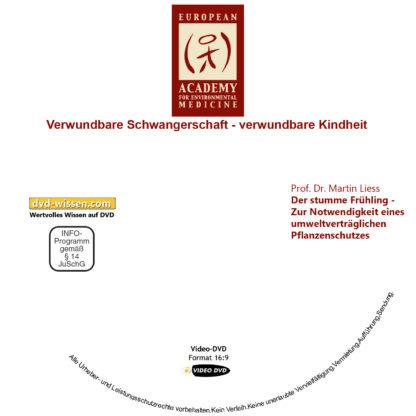 Prof. Dr. Martin Liess: Der stumme Frühling - Zur Notwendigkeit eines umweltverträglichen Pflanzenschutzes 1 DVD-Wissen - Experten Know How