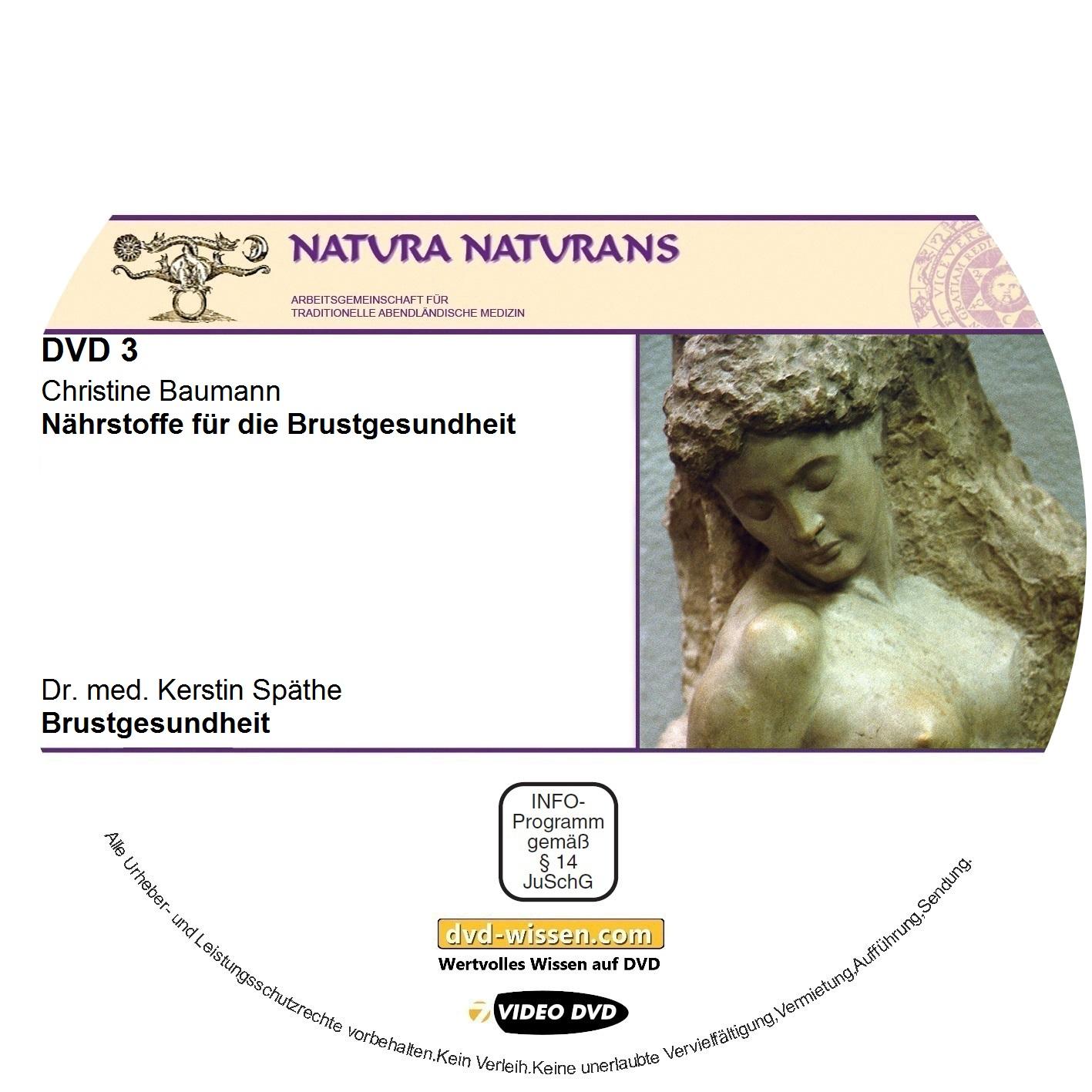 Christine Baumann, Dr. med. Kerstin Späthe, Margret Madejsky: Naturheilkonzepte für die weiblichen Brüste - Vertiefungsseminar