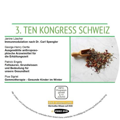Komplettsatz des TEN-Kongress 2018 2 DVD-Wissen - Experten Know How