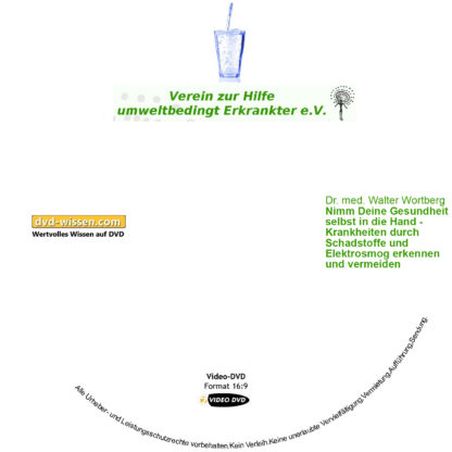 """Komplettpaket """"Entgiftung heute - aber wie"""" der Umwelttagung des VHUE e.V. 2019 2 DVD-Wissen - Experten Know How"""