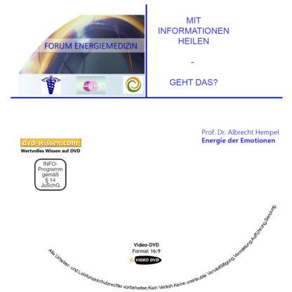 Prof. Dr. med. Albrecht Hempel: Energie der Emotionen 1 DVD-Wissen - Experten Know How