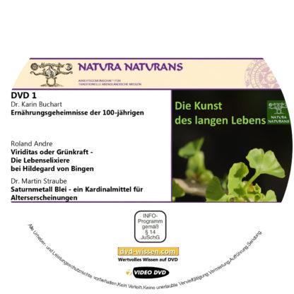"""Komplettpaket """"Die Kunst des langen Lebens"""", Tagung von natura naturans, 2019 1 DVD-Wissen - Experten Know How"""