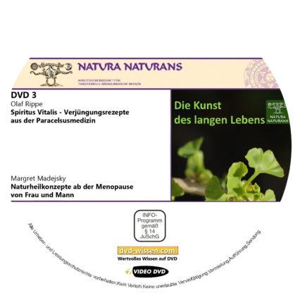"""Komplettpaket """"Die Kunst des langen Lebens"""", Tagung von natura naturans, 2019 3 DVD-Wissen - Experten Know How"""