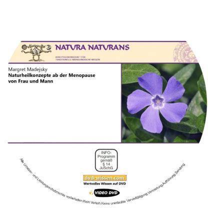 Margret Madejsky: Naturheilkonzepte ab der Menopause von Frau und Mann (Vertiefungsseminar) 1 DVD-Wissen