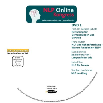 Auswahl-Paket NLP-Online-Kongress 1 DVD-Wissen