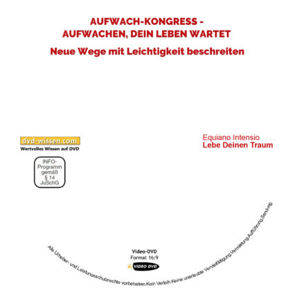 Equiano Intensio: Lebe Deinen Traum 1 DVD-Wissen - Experten Know How